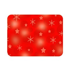 Red Xmas desing Double Sided Flano Blanket (Mini)