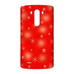 Red Xmas desing LG G3 Back Case