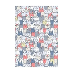 Cats Family  Shower Curtain 48  X 72  (small)