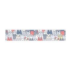Cats Family  Flano Scarf (mini)