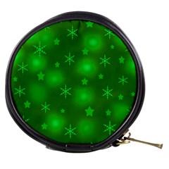Green Xmas design Mini Makeup Bags