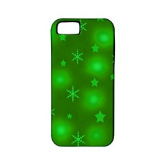 Green Xmas design Apple iPhone 5 Classic Hardshell Case (PC+Silicone)