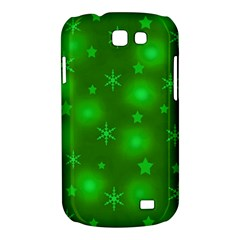 Green Xmas design Samsung Galaxy Express I8730 Hardshell Case