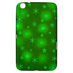 Green Xmas design Samsung Galaxy Tab 3 (8 ) T3100 Hardshell Case