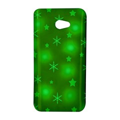 Green Xmas design HTC Butterfly S/HTC 9060 Hardshell Case