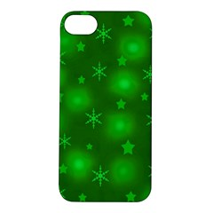 Green Xmas design Apple iPhone 5S/ SE Hardshell Case