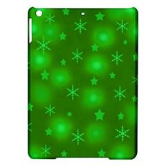 Green Xmas design iPad Air Hardshell Cases