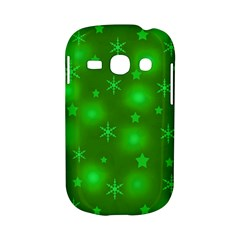 Green Xmas design Samsung Galaxy S6810 Hardshell Case