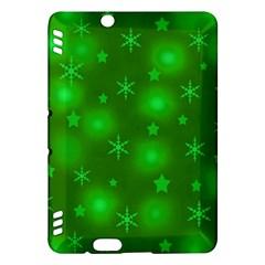Green Xmas design Kindle Fire HDX Hardshell Case