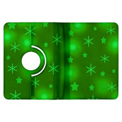 Green Xmas design Kindle Fire HDX Flip 360 Case