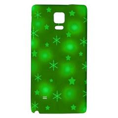 Green Xmas design Galaxy Note 4 Back Case