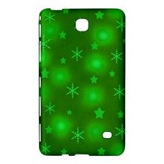 Green Xmas design Samsung Galaxy Tab 4 (7 ) Hardshell Case