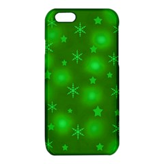 Green Xmas design iPhone 6/6S TPU Case