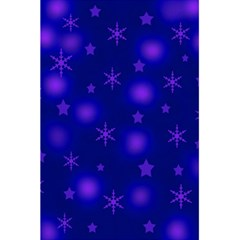 Blue Xmas design 5.5  x 8.5  Notebooks