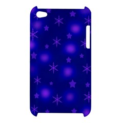 Blue Xmas design Apple iPod Touch 4
