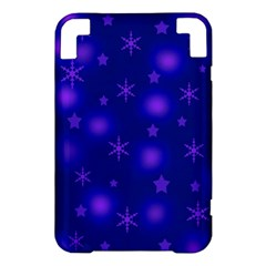 Blue Xmas design Kindle 3 Keyboard 3G