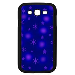 Blue Xmas design Samsung Galaxy Grand DUOS I9082 Case (Black)