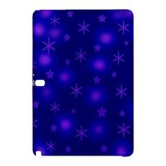 Blue Xmas design Samsung Galaxy Tab Pro 10.1 Hardshell Case