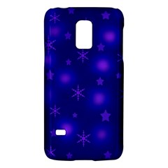 Blue Xmas design Galaxy S5 Mini