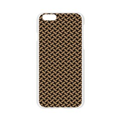 Texture Natural Intertwined Apple Seamless iPhone 6/6S Case (Transparent)