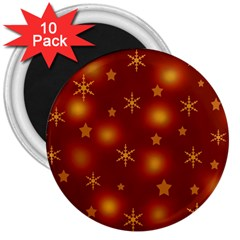 Xmas design 3  Magnets (10 pack)