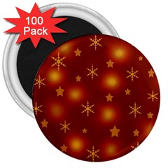 Xmas design 3  Magnets (100 pack)