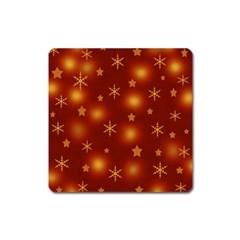 Xmas design Square Magnet