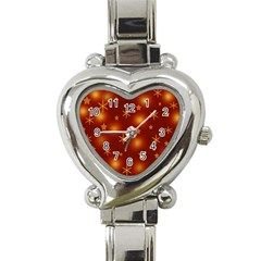 Xmas design Heart Italian Charm Watch