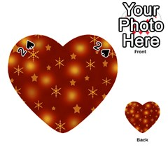 Xmas design Playing Cards 54 (Heart)