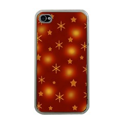 Xmas design Apple iPhone 4 Case (Clear)