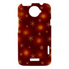 Xmas design HTC One X Hardshell Case