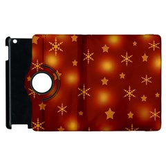 Xmas design Apple iPad 3/4 Flip 360 Case