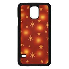Xmas design Samsung Galaxy S5 Case (Black)