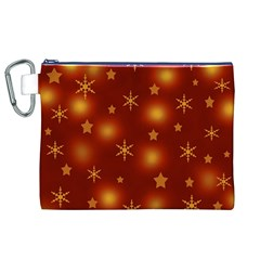 Xmas design Canvas Cosmetic Bag (XL)