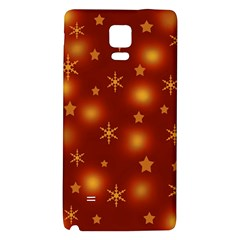 Xmas design Galaxy Note 4 Back Case