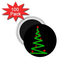 Simple Xmas tree 1.75  Magnets (100 pack)