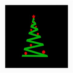 Simple Xmas tree Medium Glasses Cloth