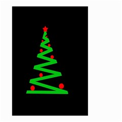 Simple Xmas tree Small Garden Flag (Two Sides)