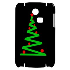 Simple Xmas tree Samsung S3350 Hardshell Case