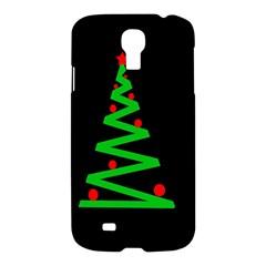 Simple Xmas tree Samsung Galaxy S4 I9500/I9505 Hardshell Case