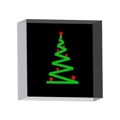 Simple Xmas tree 4 x 4  Acrylic Photo Blocks