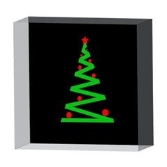 Simple Xmas tree 5  x 5  Acrylic Photo Blocks