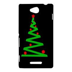 Simple Xmas tree Sony Xperia C (S39H)