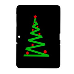 Simple Xmas tree Samsung Galaxy Tab 2 (10.1 ) P5100 Hardshell Case