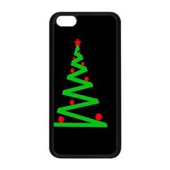 Simple Xmas tree Apple iPhone 5C Seamless Case (Black)