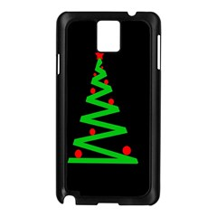 Simple Xmas tree Samsung Galaxy Note 3 N9005 Case (Black)