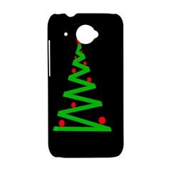 Simple Xmas tree HTC Desire 601 Hardshell Case