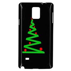 Simple Xmas tree Samsung Galaxy Note 4 Case (Black)