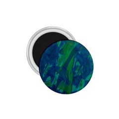 Green and blue design 1.75  Magnets