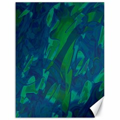 Green and blue design Canvas 18  x 24